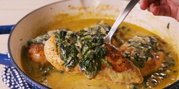 طرز تهیه مرغ توسکانی ، یک غذای خیلی خوشمزه و عالی