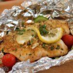 طرز تهیه ماهی در فویل ، با این روش ماهی سالم و خوش طعمی بپزید
