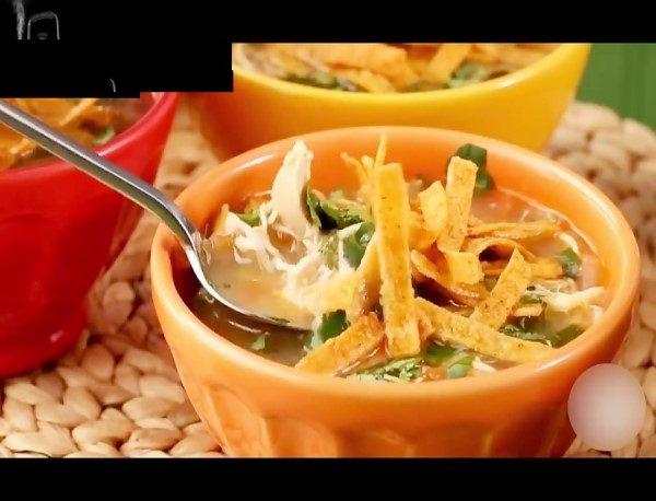 سوپ مکزیکی ناچو
