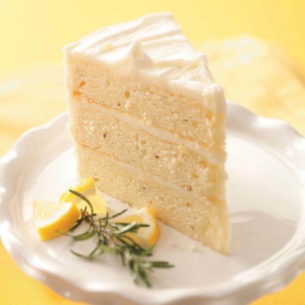 طرز تهیه کیک رزماری