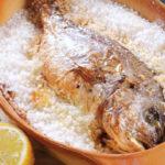 ماهی نمکی در فر ، یک غذای سالم از دستورات غذایی جیمی الیور