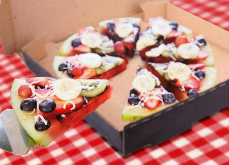 پیتزای میوه ای