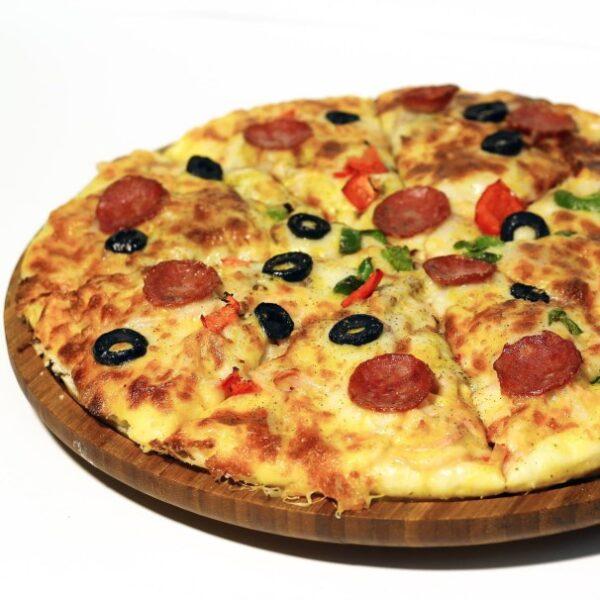 پیتزا بوقلمون یک غذای خوشمزه و در عین حال سالم