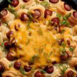 حلقه نان چیلی داگ یک غذای زیبا| برای پذیرایی از مهمان ها گزینه مناسبی است