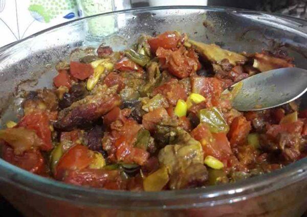 خوراک شاه بلوط
