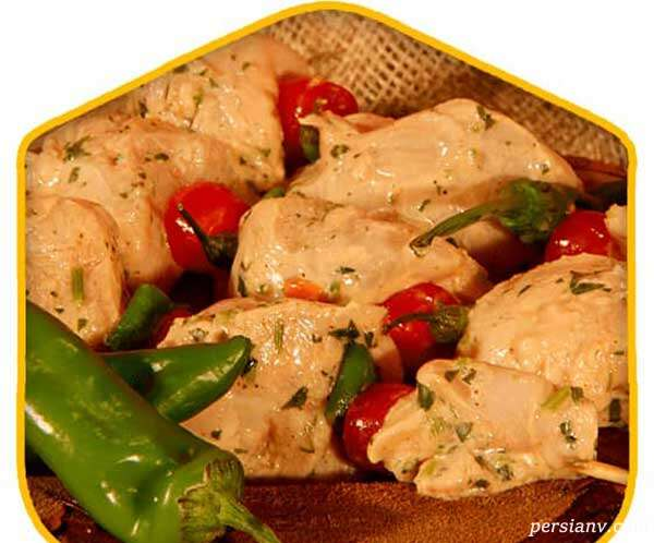 مرغ کبابی ایتالیایی