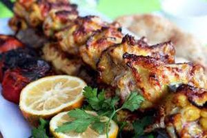 جوجه کباب مزه دار شده از سری غذاهای جیمی الیور