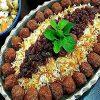 رشته پلو یک غذای خوشمزه و خوش رنگ برای سفره شب عیدتان