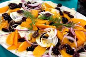 سالاد پرتقال یک پیش غذای سرشار از ویتامین c