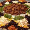 قیمه نثار یک غذای پرطرفدار مجلسی