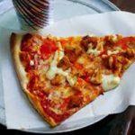 پیتزای مرغ با سس تریاکی یک غذای خوشمزه و شیک