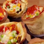 پیتزا قیفی یک غذای ساده که میز شامتان را زیبا میکند
