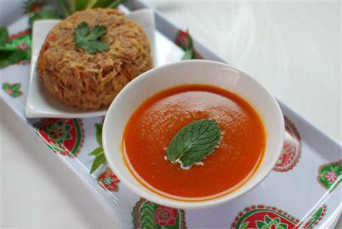 آبگوشت کرمانشاهی با گوجه سبز