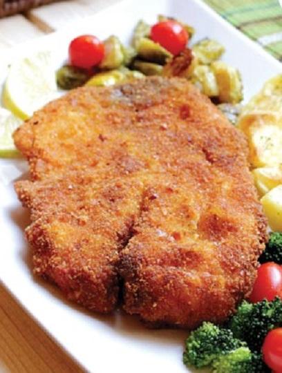 فیله ماهی تیلاپیا سوخاری