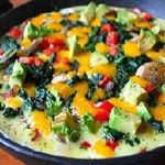 املت سبزیجات شامی و خوشمزه