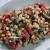 سالاد بادمجان کبابی و نخود یک پیش غذای عالی