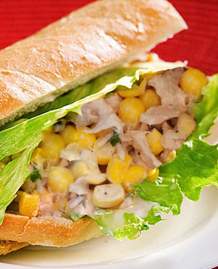 مینی ساندویچ تن ماهی، فست فود بی ضرر برای کودکان