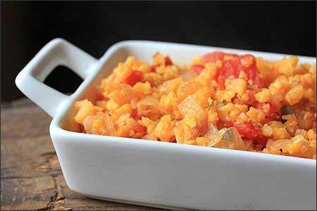 طرز تهیه خوراک رژیمی ، این غذا اسپانیایی است