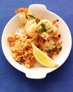 میگو اسکامپی کبابی یک غذای شیک و خوشمزه با پختی آسان