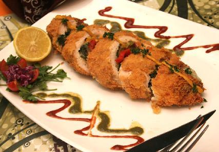 طرز تهیه رولت مرغ ، غذایی بی نظیر و دلپذیر