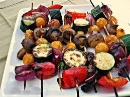 طرز تهیه سبزیجات کباب شده