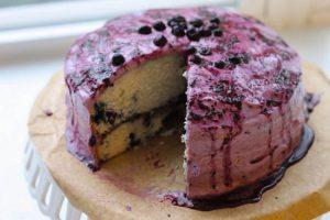 کیک بلوبری ، یک دسر شیک و خوشمزه برای جشن هایتان