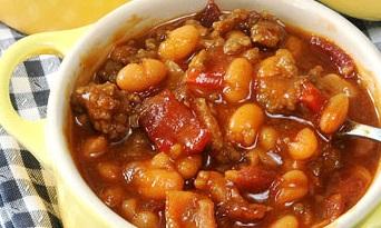 طرز تهیه خوراک لوبیا چیتی با کوفته ریزه