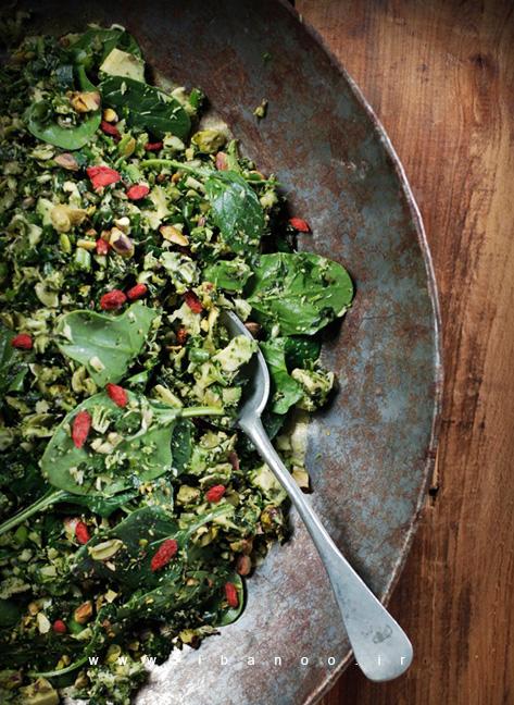 طرز تهیه سالاد تبوله سبز سرشار از آنتی اکسیدان / سالادی که تنها ۵ دقیقه طول می کشد