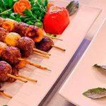کباب تسبیحی ، یک غذای خوشمزه برای خانوم های با سلیقه