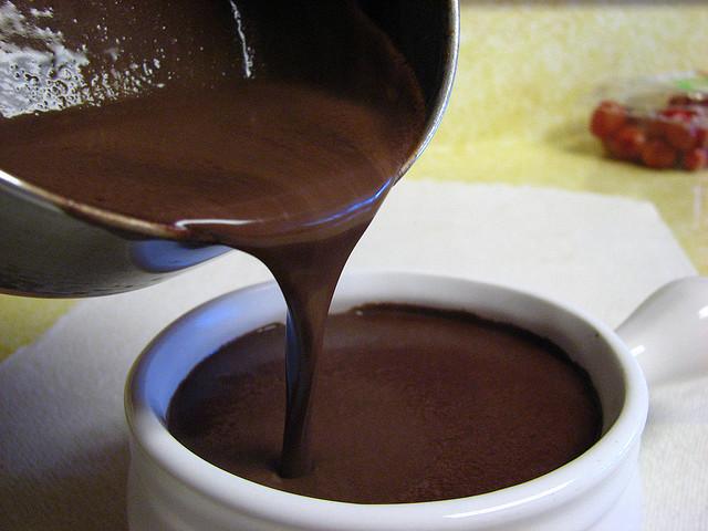 طرز تهیه شکلات زابایون ،  یک نوشیدنی خوشمزه ( فوری )