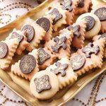 طرز تهیه کوکی بادام با شکلات