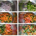 چیکن پاستا با سس ماست خامه ای، یک غذای سریع و خوشمزه + تصاویر مراحل پخت