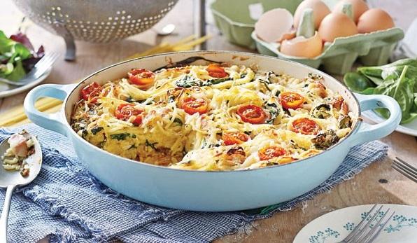 طرز تهیه کیک اسپاگتی ، غذای خوشگل و خوش طعم