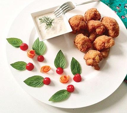کلم سوخاری ، غذایی خوشمزه و رژیمی