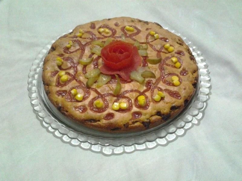 طرز تهیه کیک گوشت بسیار خوشمزه بدون فر فوری و آسان