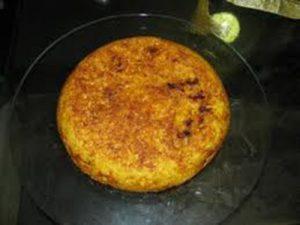 طرز تهیه ته چین مرغ در مایتابه