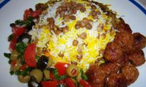 لای پلوی قشقایی یک غذای سنتی و خوشمزه