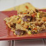 طرز تهیه نخودپلو با سبزیجات ( غذای ترکیه ای )