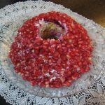 سالاد انار به شکل حلقه ، برای شب یلدا + تصاویر مراحل درست کردن این سالاد