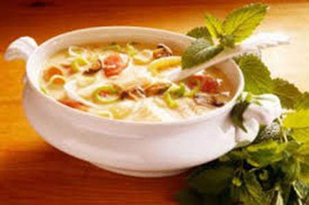 طرز تهیه سوپ گوشواره