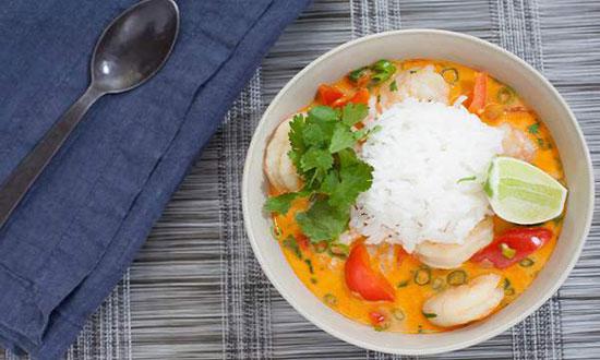 طرز تهیه خورش دریایی تایلندی ، خیلی خوشمزه و مجلل برای میهمانی ها