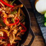 فاهیتای مرغ یک غذای خوشمزه با ظاهری اشتها آور از آمریکای جنوبی