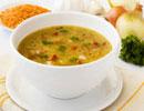 یک سوپ راحت و آسان از سبزیجات ، برای کسانی که رژیم لاغری دارند