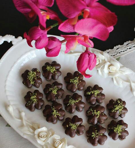 شیرینی نخودچی شکلاتی این بار به سبک جدید