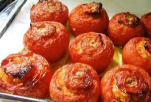 طرز تهیه دلمه گوجه فرنگی با مایکروفر
