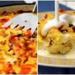 غذای رژیمی با کاسرول گل کلم ، یک غذای عالی + تصاویر مراحل پخت