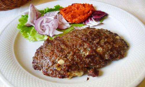 یک غذای هندی خوشمزه ، گوشت چرخ کرده بریان !