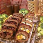طرز تهیه رولت گوشت شیک با طعم زرشک