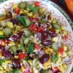 رنگ ها و طعم های مختلف سالاد مکزیکی درست کنید