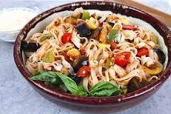 طرز تهیه اسپاگتی با سس سبزیجات